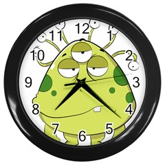 The Most Ugly Alien Ever Wall Clocks (black)