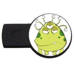The Most Ugly Alien Ever Usb Flash Drive Round (4 Gb) by Catifornia