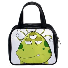 The Most Ugly Alien Ever Classic Handbags (2 Sides) by Catifornia