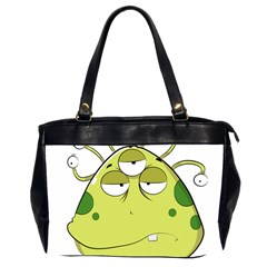 The Most Ugly Alien Ever Office Handbags (2 Sides)  by Catifornia