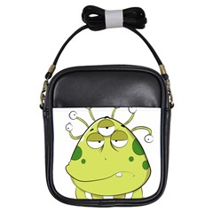The Most Ugly Alien Ever Girls Sling Bags by Catifornia