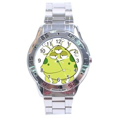 The Most Ugly Alien Ever Stainless Steel Analogue Watch