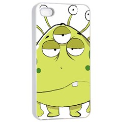 The Most Ugly Alien Ever Apple Iphone 4/4s Seamless Case (white) by Catifornia