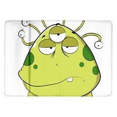 The Most Ugly Alien Ever Samsung Galaxy Tab 10 1  P7500 Flip Case