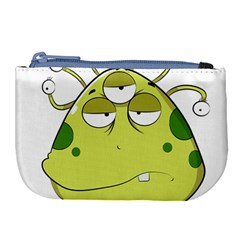 The Most Ugly Alien Ever Large Coin Purse