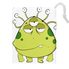 The Most Ugly Alien Ever Drawstring Pouches (xxl) by Catifornia