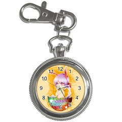 Easter Bunny Furry Key Chain Watches by Catifornia
