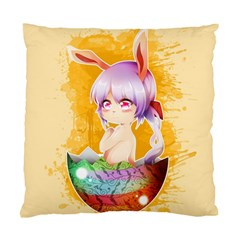 Easter Bunny Furry Standard Cushion Case (one Side) by Catifornia