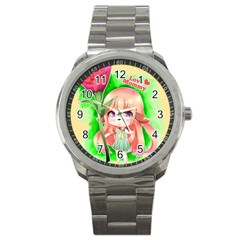 Happy Mother s Day Furry Girl Sport Metal Watch by Catifornia