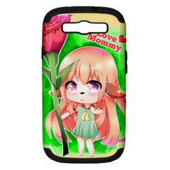 Happy Mother s Day Furry Girl Samsung Galaxy S Iii Hardshell Case (pc+silicone) by Catifornia