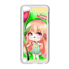 Happy Mother s Day Furry Girl Apple Ipod Touch 5 Case (white) by Catifornia