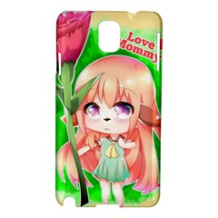 Happy Mother s Day Furry Girl Samsung Galaxy Note 3 N9005 Hardshell Case by Catifornia