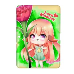 Happy Mother s Day Furry Girl Samsung Galaxy Tab 2 (10 1 ) P5100 Hardshell Case