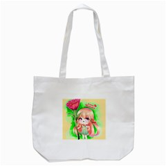 Happy Mother s Day Furry Girl Tote Bag (white) by Catifornia