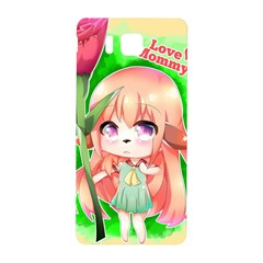 Happy Mother s Day Furry Girl Samsung Galaxy Alpha Hardshell Back Case by Catifornia