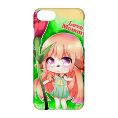 Happy Mother s Day Furry Girl Apple Iphone 7 Hardshell Case by Catifornia