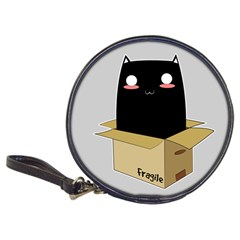 Black Cat In A Box Classic 20 Cd Wallets by Catifornia