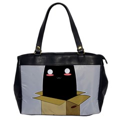 Black Cat In A Box Office Handbags by Catifornia