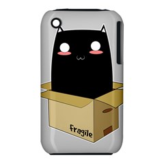 Black Cat In A Box Iphone 3s/3gs by Catifornia