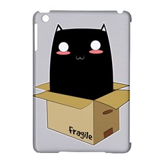 Black Cat In A Box Apple Ipad Mini Hardshell Case (compatible With Smart Cover) by Catifornia