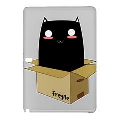 Black Cat In A Box Samsung Galaxy Tab Pro 12 2 Hardshell Case by Catifornia