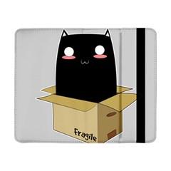 Black Cat In A Box Samsung Galaxy Tab Pro 8 4  Flip Case by Catifornia