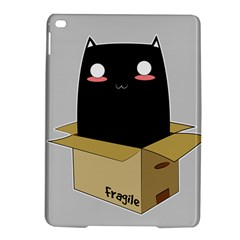 Black Cat In A Box Ipad Air 2 Hardshell Cases by Catifornia