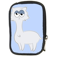 Grumpy Persian Cat Llama Compact Camera Cases by Catifornia