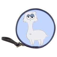 Grumpy Persian Cat Llama Classic 20 Cd Wallets by Catifornia