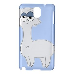 Grumpy Persian Cat Llama Samsung Galaxy Note 3 N9005 Hardshell Case by Catifornia