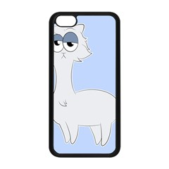 Grumpy Persian Cat Llama Apple Iphone 5c Seamless Case (black) by Catifornia