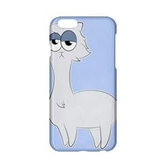 Grumpy Persian Cat Llama Apple Iphone 6/6s Hardshell Case by Catifornia