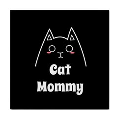 Love My Cat Mommy Tile Coasters by Catifornia
