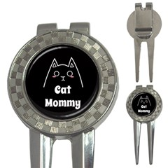Love My Cat Mommy 3 In 1 Golf Divots by Catifornia