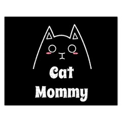 Love My Cat Mommy Rectangular Jigsaw Puzzl by Catifornia
