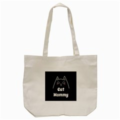 Love My Cat Mommy Tote Bag (cream) by Catifornia