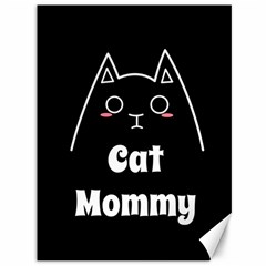 Love My Cat Mommy Canvas 36  X 48   by Catifornia