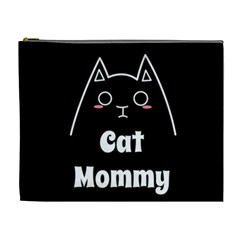 Love My Cat Mommy Cosmetic Bag (xl) by Catifornia