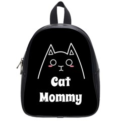 Love My Cat Mommy School Bags (small)