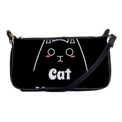 Love My Cat Mommy Shoulder Clutch Bags by Catifornia