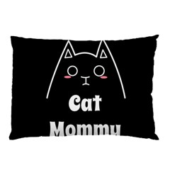 Love My Cat Mommy Pillow Case (two Sides) by Catifornia