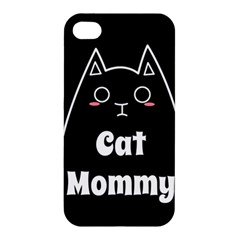 Love My Cat Mommy Apple Iphone 4/4s Hardshell Case by Catifornia