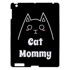 Love My Cat Mommy Apple Ipad 3/4 Hardshell Case by Catifornia
