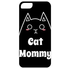 Love My Cat Mommy Apple Iphone 5 Classic Hardshell Case by Catifornia