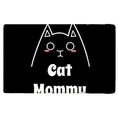 Love My Cat Mommy Apple Ipad 2 Flip Case by Catifornia
