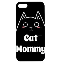 Love My Cat Mommy Apple Iphone 5 Hardshell Case With Stand by Catifornia