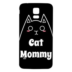 Love My Cat Mommy Samsung Galaxy S5 Back Case (white) by Catifornia