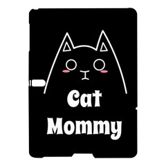 Love My Cat Mommy Samsung Galaxy Tab S (10 5 ) Hardshell Case  by Catifornia