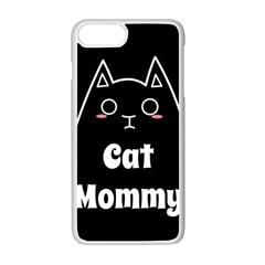 Love My Cat Mommy Apple Iphone 7 Plus White Seamless Case by Catifornia