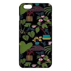 Wreaths Flower Floral Leaf Rose Sunflower Green Yellow Black Iphone 6 Plus/6s Plus Tpu Case by Mariart